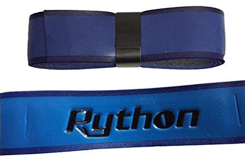 Python Deluxe Wrap Racquetball Grip (Blue)