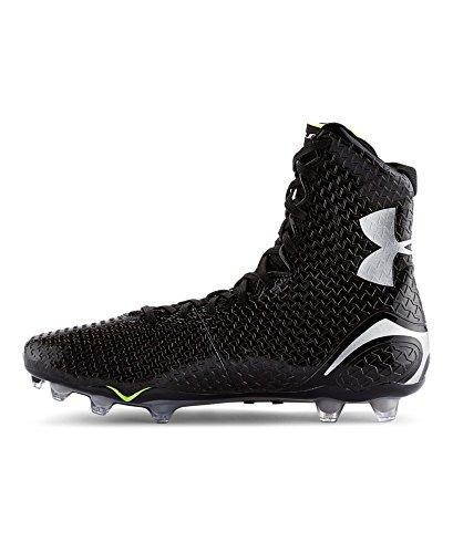 Under Armour Men's UA Highlight MC Black/Black Sneaker 11 D - Medium