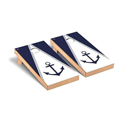 Anchor Cornhole Game Set in Navy Blue Version by GAME