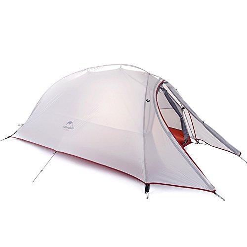 聖職者塩ウェブシングルパーテンキャンプテント4シーズンダブルレインプロテクションバックパックテントは屋外スポーツのために組み立てる必要があり、ハイキング、釣り、キャンプに適しています