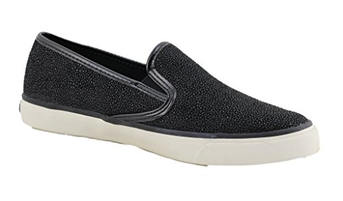 Sperry Seaside Cavier Black Bootsschuhe Segelschuhe Sneaker Damen