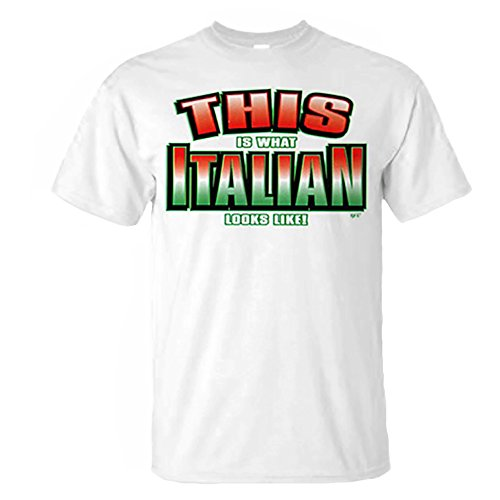 This is What Italian Looks Like T-Shirt X-Large -