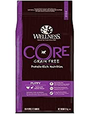 Save on Wellness Core Dog Dry Grain-free Food Puppy Turkey with Chicken, 1.5 kg and more