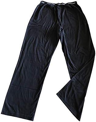 Calvin Klein Mens 100% Cotton Knit Pajama Sleep Pants Black Medium