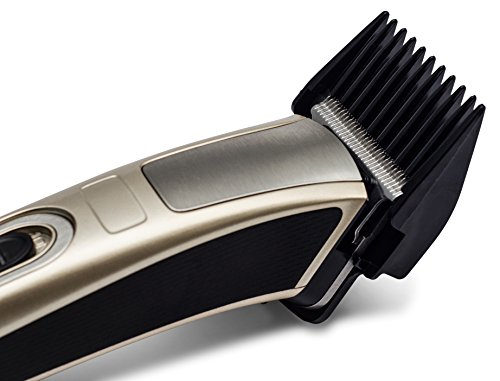 Professional hair clippers - GM-657. Professional Electric Hair Clippers with Detachable Blade – Great for Barber and Home – QUIET and EFFICIENT
