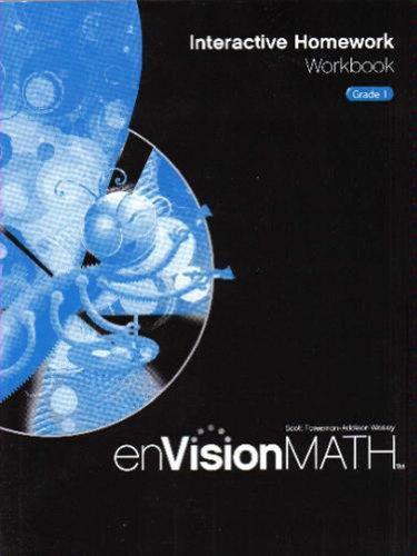 enVision Math: Interactive Homework Workbook, Grade 1
