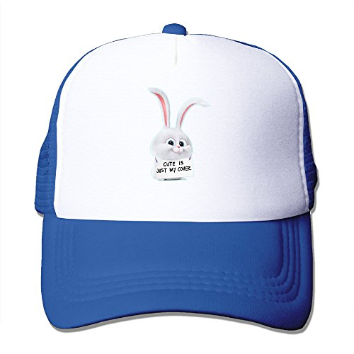CCbros The Secret Cute Rabbit Leisure Mesh Back Hats Cap One Size Fit All RoyalBlue - Old Samsung Microwave