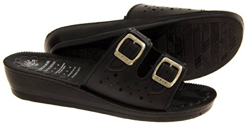 Footwear Studio - Zuecos para mujer Negro