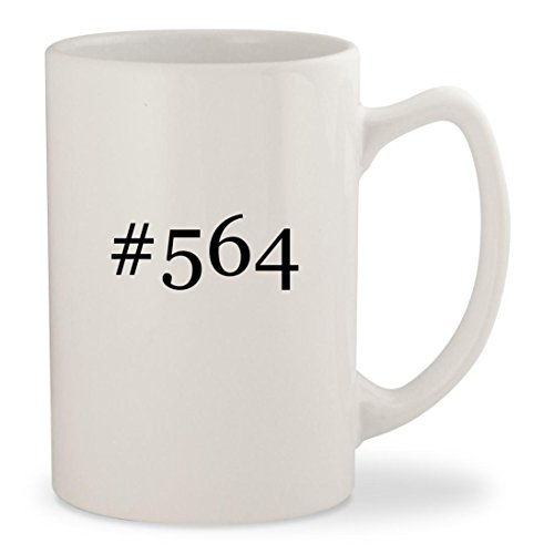 Inkjet 14 Cart (#564 - White Hashtag 14oz Ceramic Statesman Coffee Mug Cup)