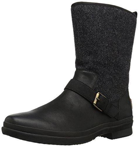 UGG Women's Robbie Fashion Sneaker,Black,9 M US by UGG