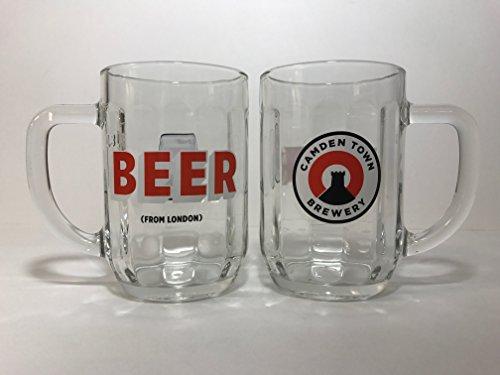 Camden Glass (Camden Town Brewery - Beer From London - .3 Liter Mug - Set of 2)