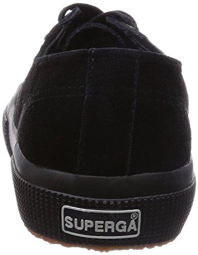 Superga 2750 - SUEU, Zapatillas Unisex Negro (Black 999)