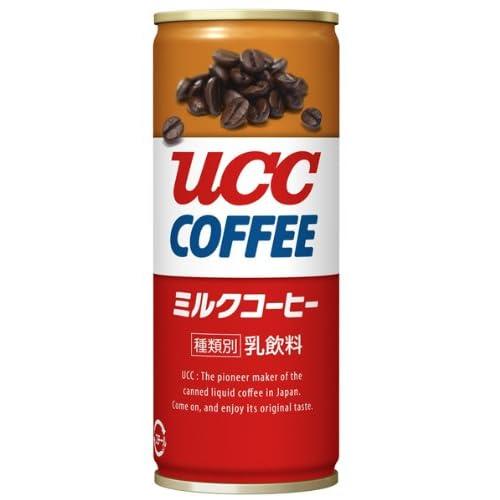 UCC  ミルクコーヒー 缶コーヒー 250ml×30本
