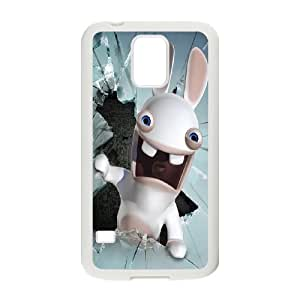 Rayman Raving Rabbids theme pattern design For Samsung Galaxy S5 Phone Case