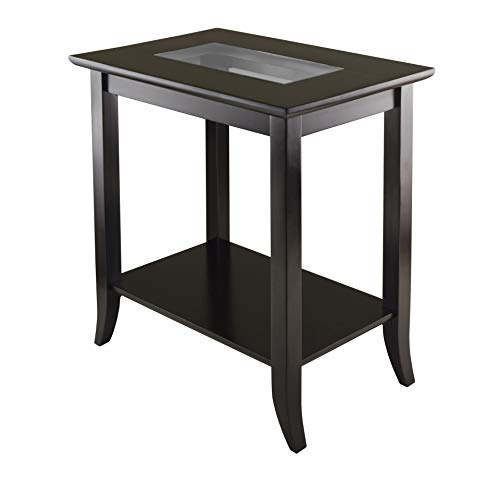 - Winsome 92419 Genoa Occasional Table, Dark Espresso
