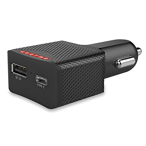 75w Car (USB Type-C Port 75 Watt Power Delivery Car Charger for Mobile Phones, Laptops, Digital Cameras Can be Used with Type-A Charging Cables.)