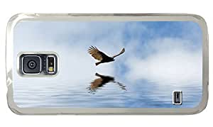 Hipster Samsung Galaxy S5 Case online Condor Fly Sea PC Transparent for Samsung S5