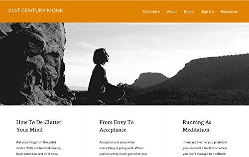 21st Century Monk - Coggles.com