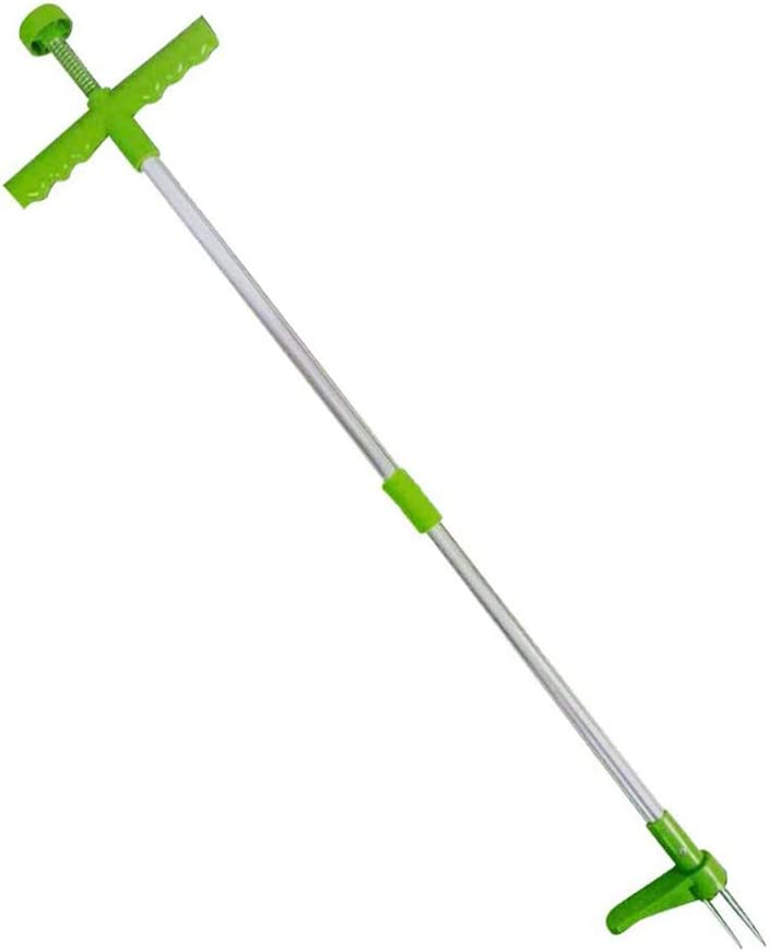 Poxcap Garden Lawn Portable Stand Up Weed Puller D/ésherbeur manuel Herbe Extracteur Remover Digger Rooter Ripper D/étachable Killer Tool Griffe Weeders Weed outdoors for pissenlit crabe grass
