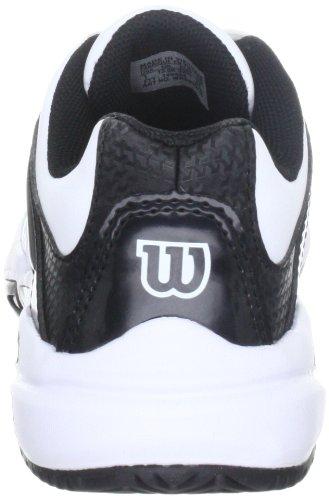 Minore Trance Impatto Wilson Nero Da bambino Unisex Weiss bianco Tennis qZPxUCw