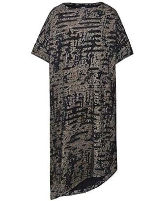 Moyuru Women's Oversized Textured Dress Multi Coloured S-M