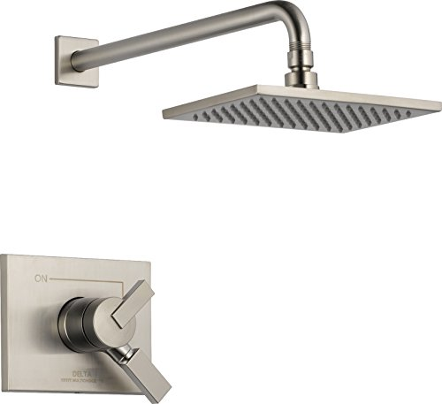 (Delta Faucet T17253-SS-WE Vero Monitor 17 Series Shower Trim, Stainless,)
