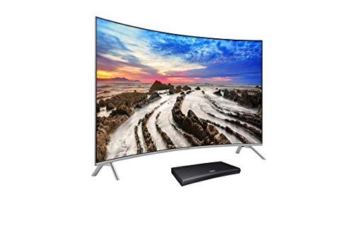 UN65MU8500 Curved 65-Inch 4K UHD TV & M9500 UHD Blu-ray Player Bundle