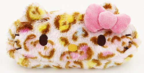 Hello Kitty Leopard Collection: Face Cosmetic Bag or Pen bag