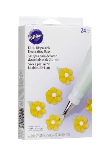 """Disposable Decorating 12"""" Bags - 24 Ct"""