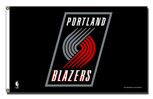 Rico Industries NBA Portland Trailblazers 3-Foot by 5-Foot Banner Flag by Rico Industries