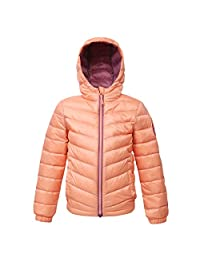 Rokka&Rolla Girls' Ultra Lightweight Hooded Packable Puffer Down Jacket