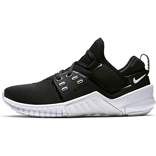 Nike Women's Free Metcon 2 Training Shoe Black/White Size 9.5 M US (Free Trainer)