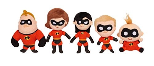 The Incredibles Stylized Bean Collector Pack ()