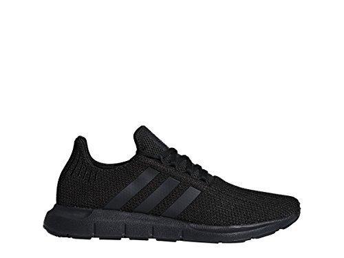 adidas Originals Men's Swift Running Shoe, Black/Black/White, 10.5 M US by adidas Originals