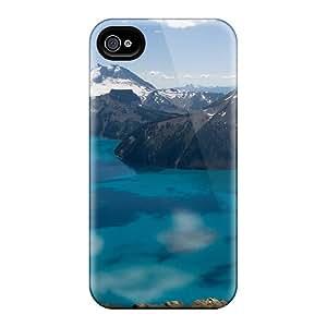 EcVxy1110Ijpyn Snap On Case Cover Skin For Iphone 4/4s(garibaldi Lake - British Columbia - Canada)