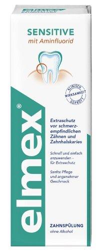 Elmex Sensitive Zahnspülung, 2er Pack (2 x 400 ml)
