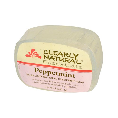 (Clearly Natural Glycerine Bar Soap Peppermint - 4 Oz)
