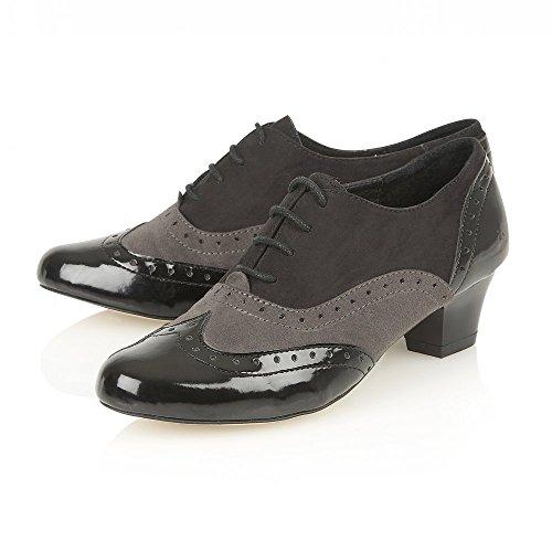 Lotus Sheree Negro Multi Zapatos De Tacón 6