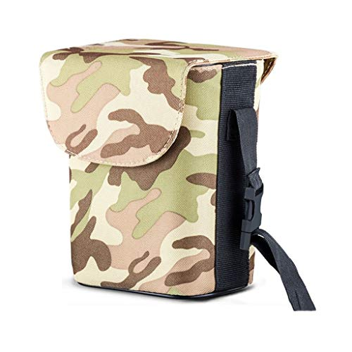 Car Trash Can Multi-Function Car Hanging Garbage Bag Creative Storage Box (Color : ArmyGreen, Size : with Cover)