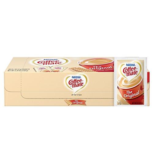 NESTLE COFFEE-MATE Coffee Creamer, Original, 3g powdered packets, 50 ct