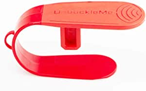 UnbuckleMe - Makes it Easy to Unbuckle a Child's Car Seat - Easy Buckle Release Tool for Parents, Grandparents & Older Children - Invented & Patented by a Grandma - Made in USA (Red)