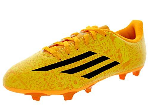 Adidas Kids F5 FG J (Messi) Sogold/Blkwhi/Cblack Soccer Cleat 2.5 Kids US
