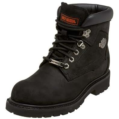 Harley-Davidson Wolverine Men's Badlands 6-Inch Black Boots D91005
