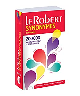 Amazon Fr Dictionnaire Des Synonymes Et Nuances Version Poche