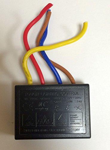 Touchdimmer Touch Dimmer Modul MT-1009A 20 - 150 Watt Ersatzteil