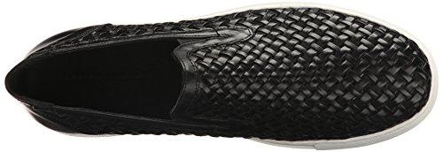 Donald J Pliner Mens Clark Chaussure Mode Noir Tissés Nappa