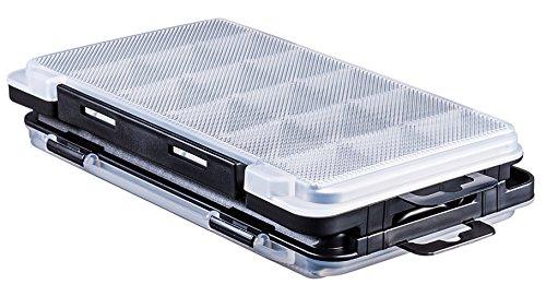 Angelbox f/ür kleine Kunstk/öder /& Kleinteile Meiho Light Game Case J 17,5x10,5x1,8cm K/öderbox Kleinteilebox f/ür Haken /& Wirbel