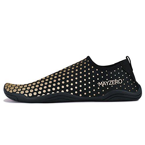 Chaussures Femme Eau Homme 1 Nager Aqua or Aquatiques Surf Marchant Plongée Minbei Sport Plage Piscine BExU7qqwg