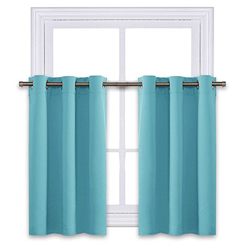 NICETOWN Thermal Insulated Blackout Window Valances - Energy