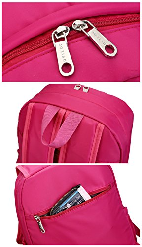 AOTIAN 7787 - Bolso mochila  para mujer rojo K-RED C-RED